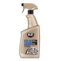 K2 Felix płyn do mycia felg aluminiowych stalowych i kołpaków 770ml
