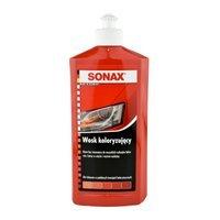Wosk koloryzujący czerwony Sonax 500ml
