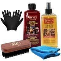 Zestaw: K2 Leather do czyszczenia i konserwacji skóry + GRATISY