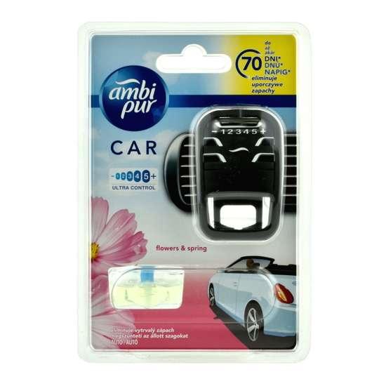 Ambi Pur Car zapach samochodowy Flowers & Spring - zestaw