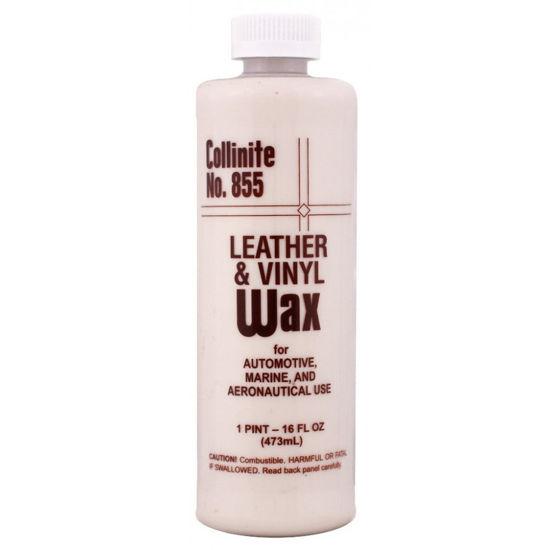 Collinite 855 Leather Vinyl Wax mleczko do pielęgnacji skóry i winylu 473ml