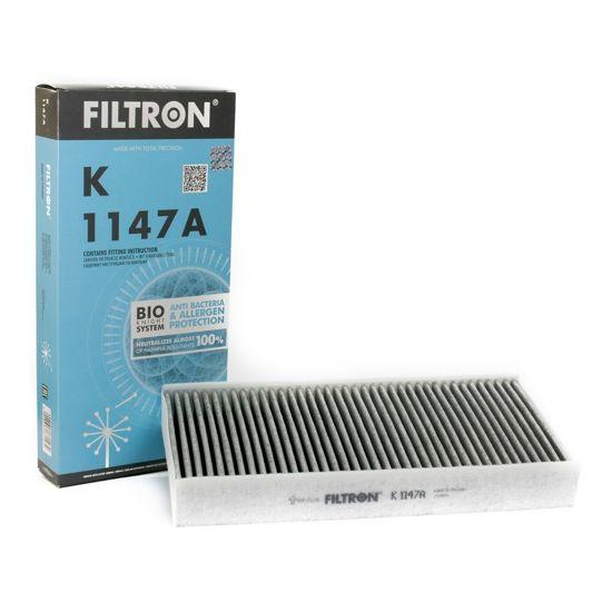 FILTRON filtr kabinowy K1147A - Peugeot 407 407Coupe 1.8-3.0i 03.04- z węglem aktywnym