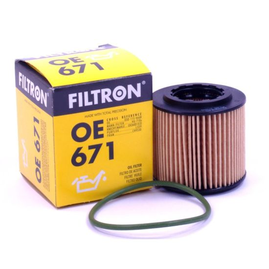 FILTRON filtr oleju OE671 - VW Polo IV, Skoda Fabia 1.2, Seat Cordoba III