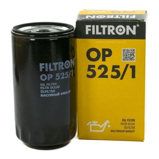 FILTRON filtr oleju OP525/1 - Audi 80 1.9TDi (Eng.90 HP) 8/91->
