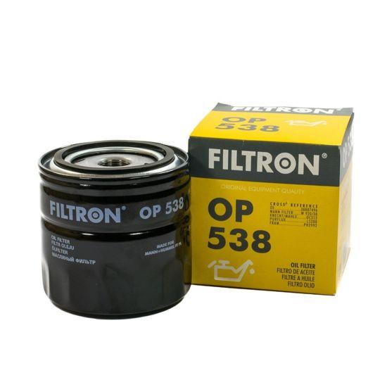 FILTRON filtr oleju OP538 - Renault, Volvo, Dacia Espace TD, Fuego TD, Super 5SD,TD