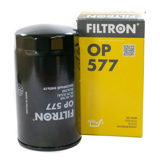 FILTRON filtr oleju OP577 - Volvo B6, B10, B50