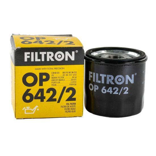 FILTRON filtr oleju OP642/2 - Renault Clio II 1.2i 98->