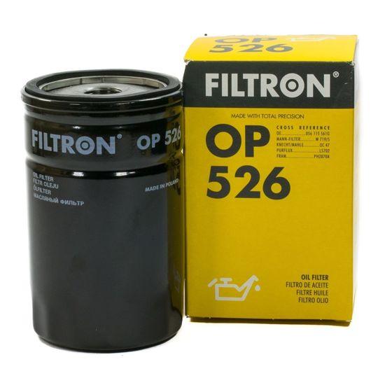 FILTRON fltr oleju OP526 - Audi, Seat, VW, Trabant 1.1, Wartburg 1.3