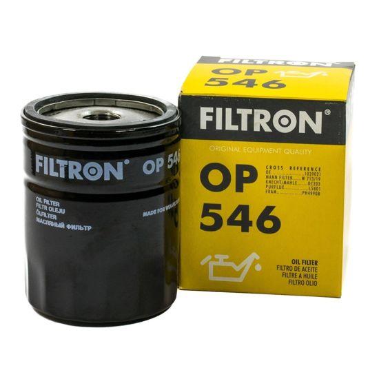 FILTRON fltr oleju OP546 - Ford Escort, Fiesta, Mondeo, Sierra