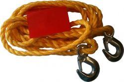 GIT linka holownicza sznur z hakiem 2500kg