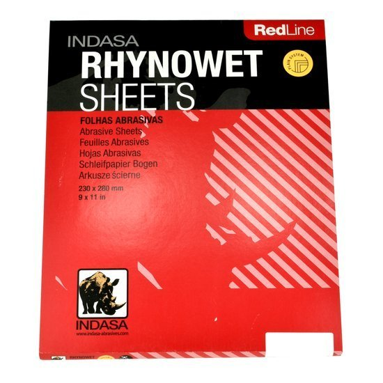 Indasa Red Line - wodny papier ścierny P1200
