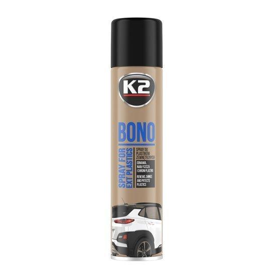 K2 Bono czyści i nabłyszcza plastiki - spray 300ml