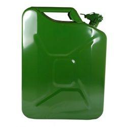 Kanister metalowy na paliwo benzynę olej 10L