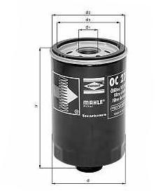 Knecht filtr oleju OC262 - VW, Seat 1,9 TDi ->97 Toledo 1,9TDi 96->