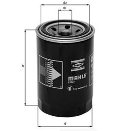 Knecht filtr oleju OC976 - Peugeot, Citroen, Fiat