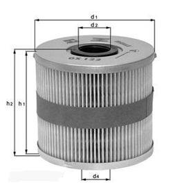 Knecht filtr oleju OX424D - Kia Cee'd 1.6CDRI 06- Picanto 1.1D 05- RIO 1.5CRDI 05-