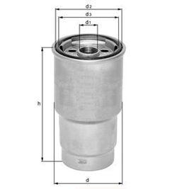 Knecht filtr paliwa KL23 - wstępny prosty Diesel