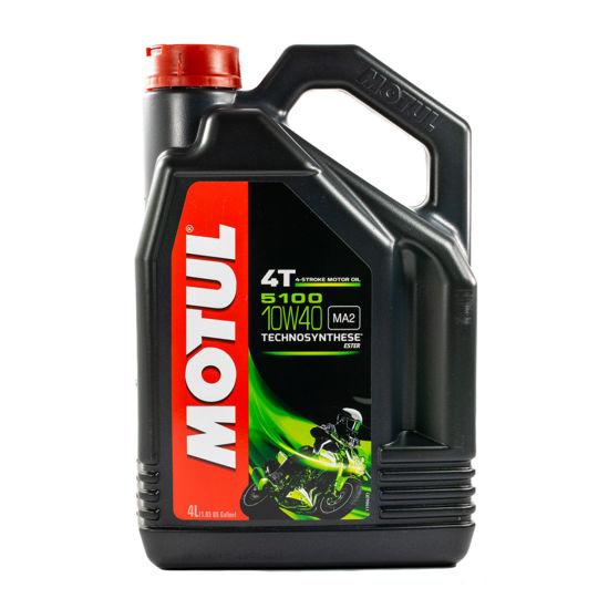 Olej motocyklowy Motul 5100 4T 10W/40 MA2 4L