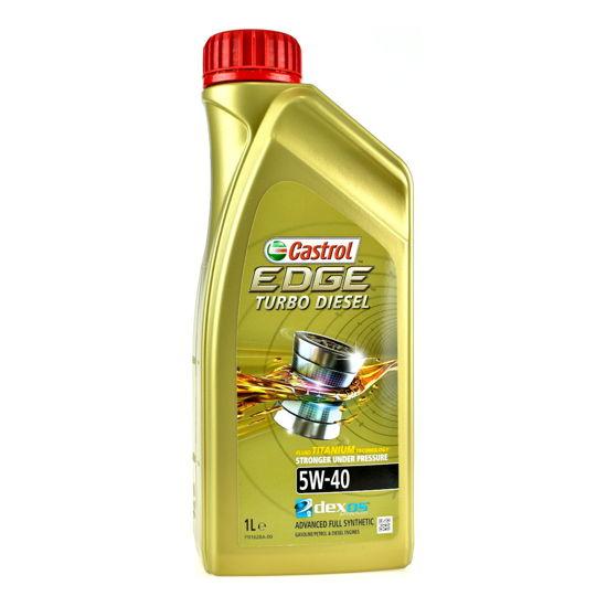 Olej silnikowy Castrol Edge Turbo Diesel FST Titanium 5W/40 1L