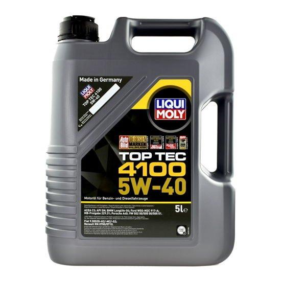 Olej silnikowy Liqui Moly Top Tec 4100 SAE 5W/40 5L