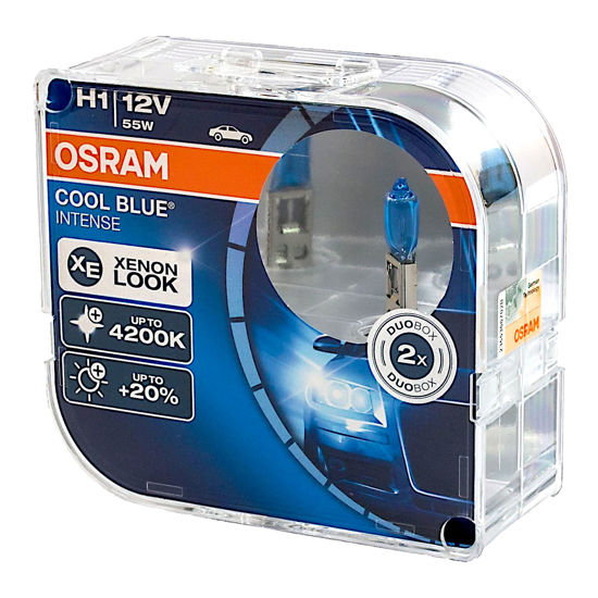 Żarówka OSRAM H1 Cool Blue Intense - 2szt. DUO BOX