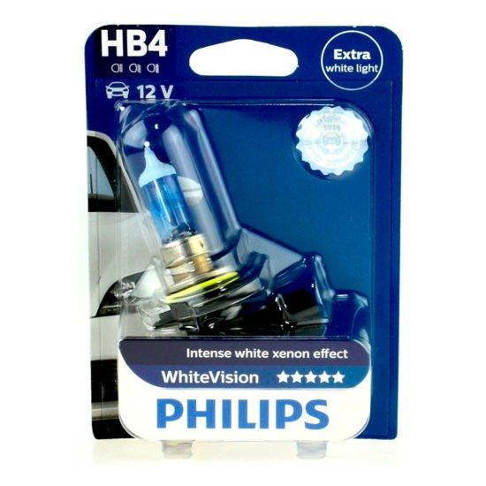 Żarówka samochodowa HB4 51W Philips White Vision Xenon Effect - 1szt