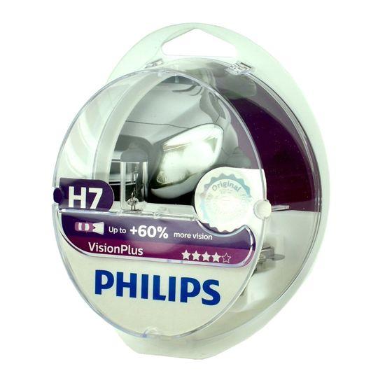 Żarówka samochodowa Philips H7 VisionPlus 60% Box - 2szt